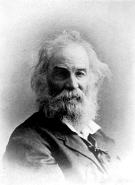 Old photograph of Walt Whitman