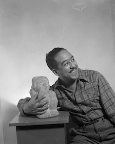 Langston Hughes photograph, 1936
